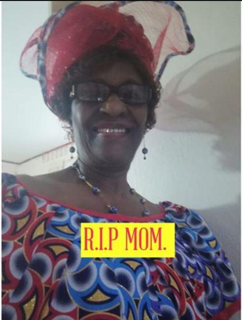 overleden moeder Suriname