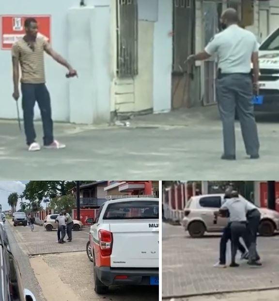 Politie Paramaribo Suriname