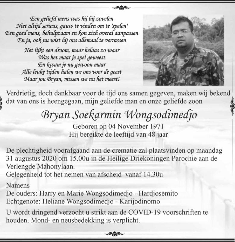 Bryan Wongsodimedjo