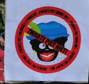 zwarte Piet verboden
