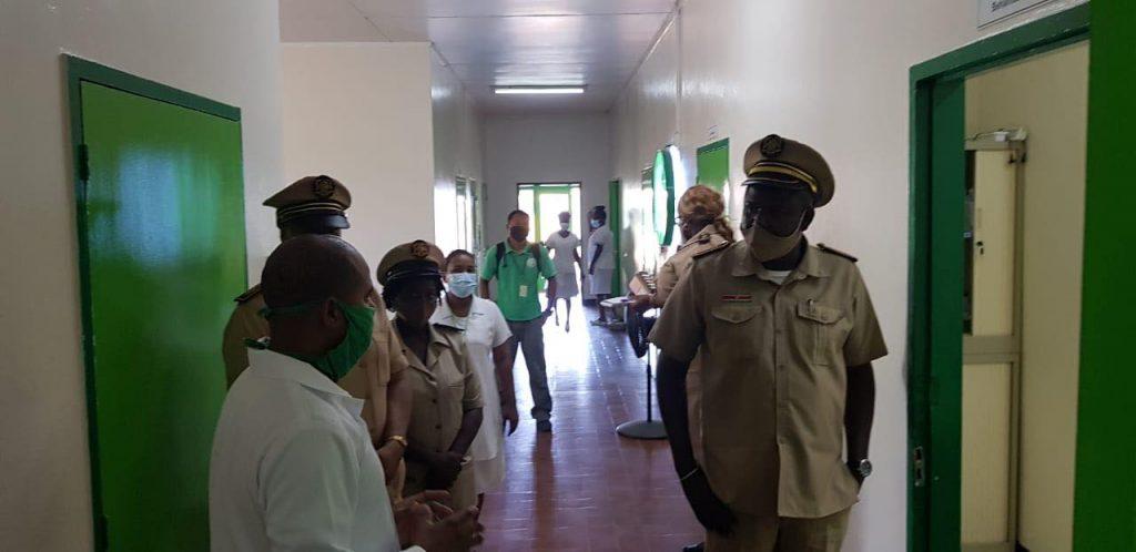 coronie besmettingen Suriname