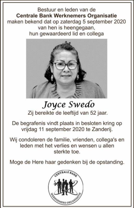 joyce Swedo