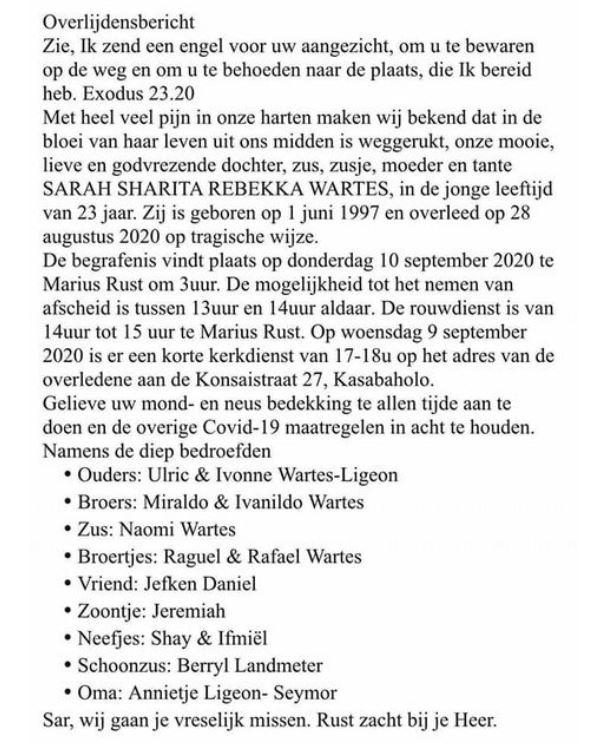 Sarah Wartes