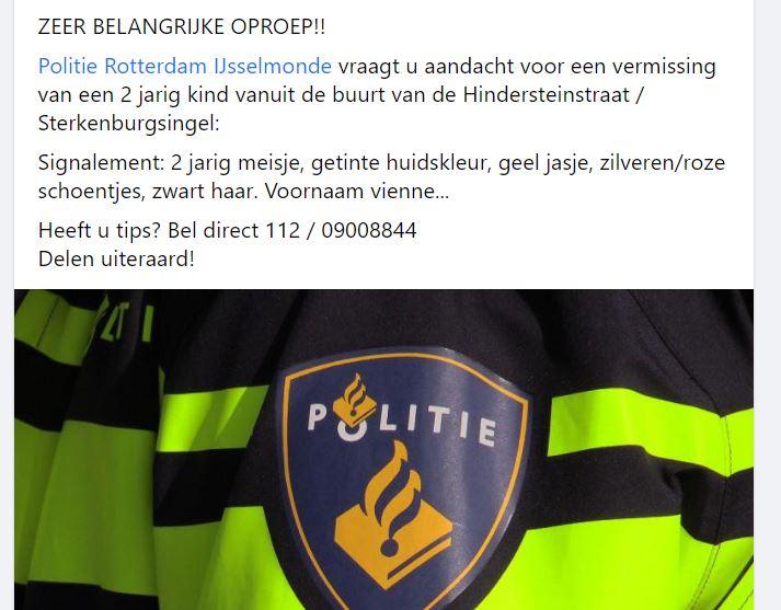 meisje Nederland Rotterdam