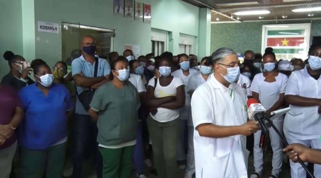 AZP Personeel ziekenhuis Paramaribo