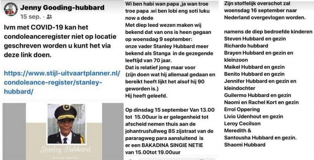 Stanley Hubbard Vliegen Nederland Suriname