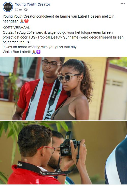 Latrel Hoeseni Suriname