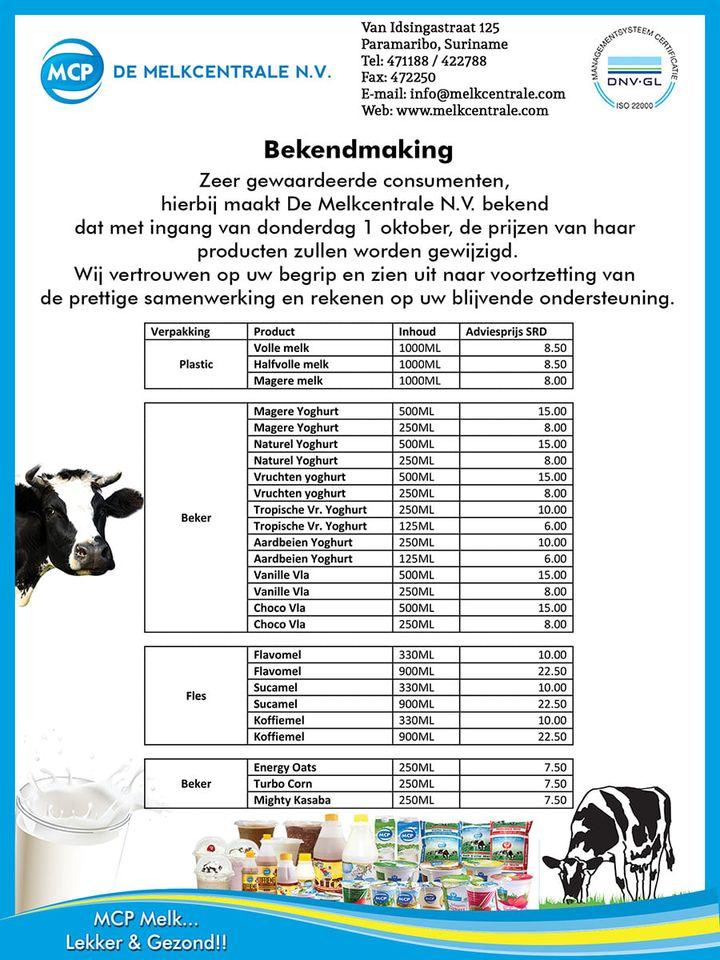 melkcentrale Suriname