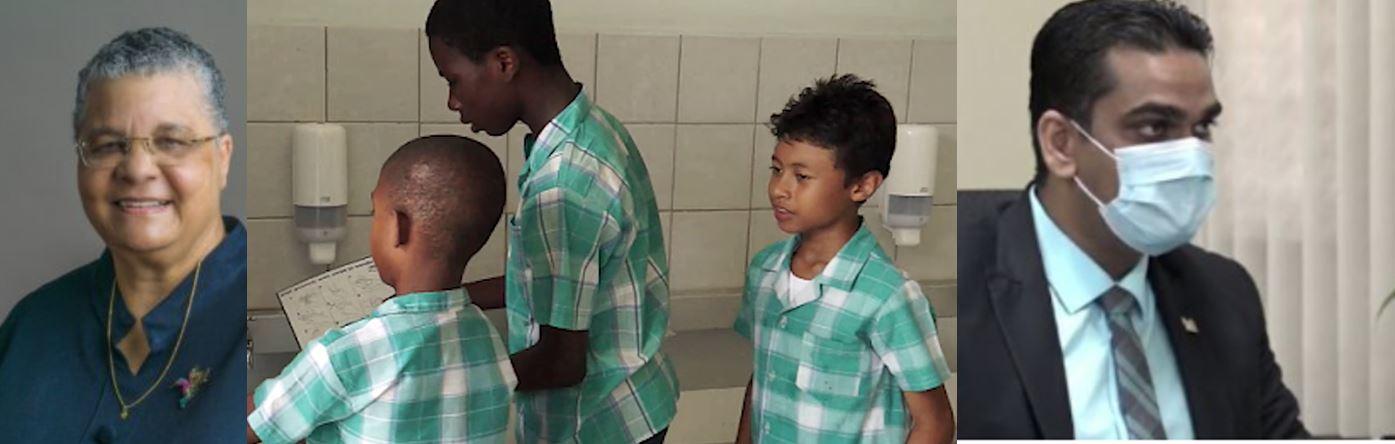 school kinderen Suriname