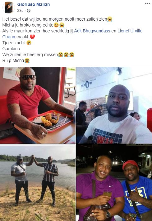 Michael ong afat Suriname