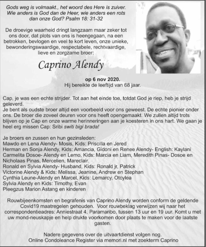 Caprino Alendy