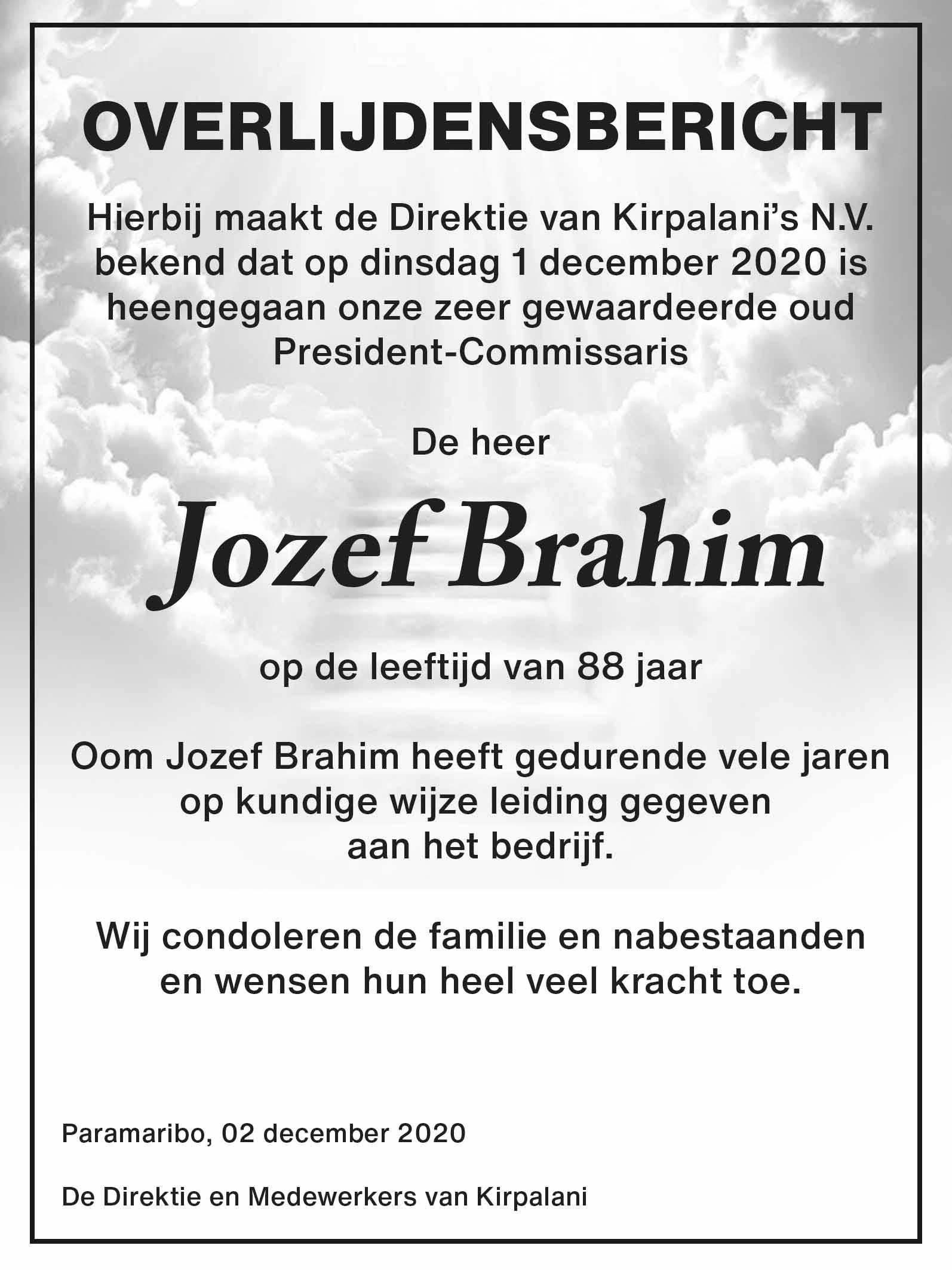 Brahim DSB Suriname