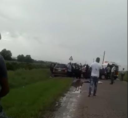 overleden verkeer Suriname