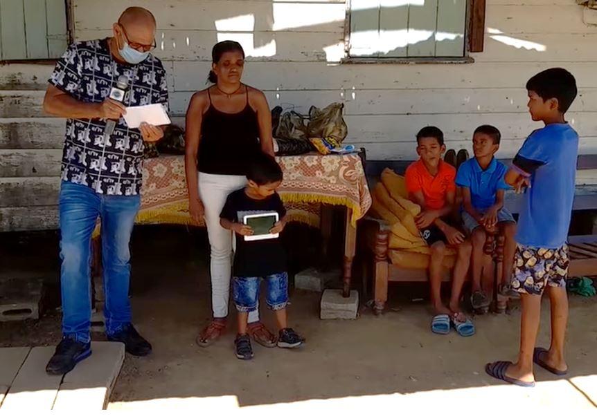 vader Suriname kinderen