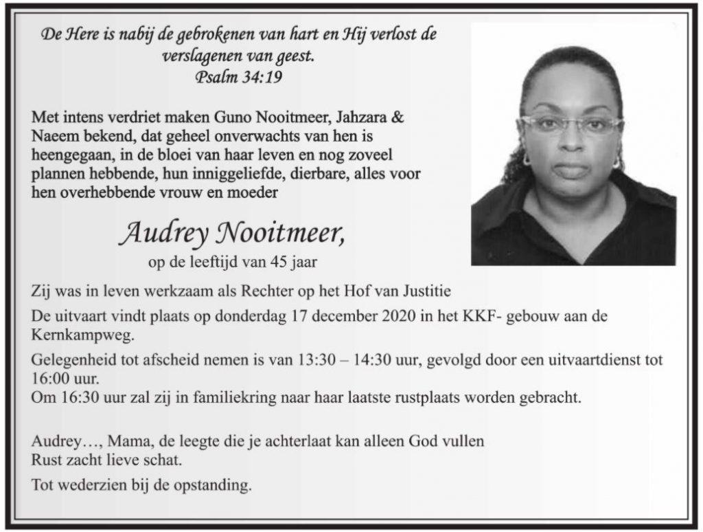 rechter audrey Nooitmeer Rotsburg