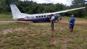 vliegtuig ongeluk Suriname