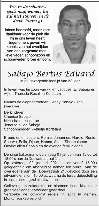 Eduard Sabajo