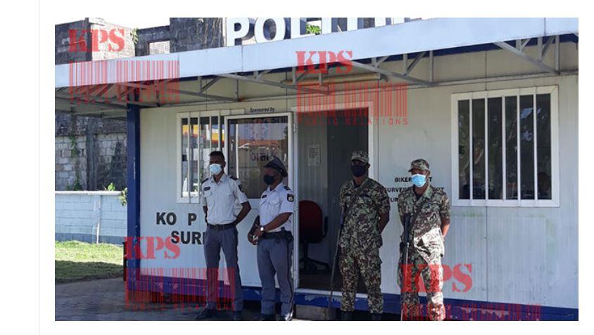 "Her-opening politiepost ""On The Run"" te Paramaribo centrum – Politie Suriname"