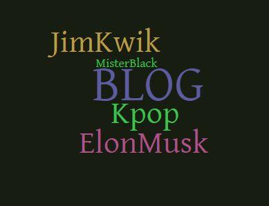 Mister Black BLOG #1 – K-pop, Elon Musk, Jim Kwik
