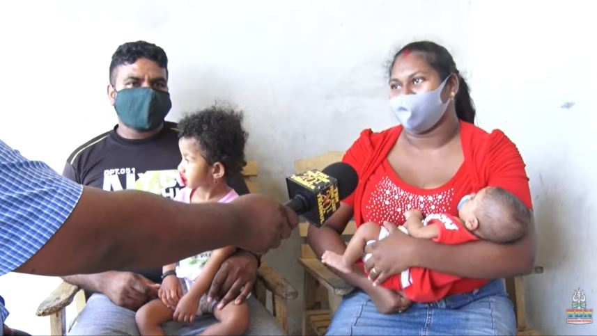 Video – Baby Ramrattan weer thuis in Suriname
