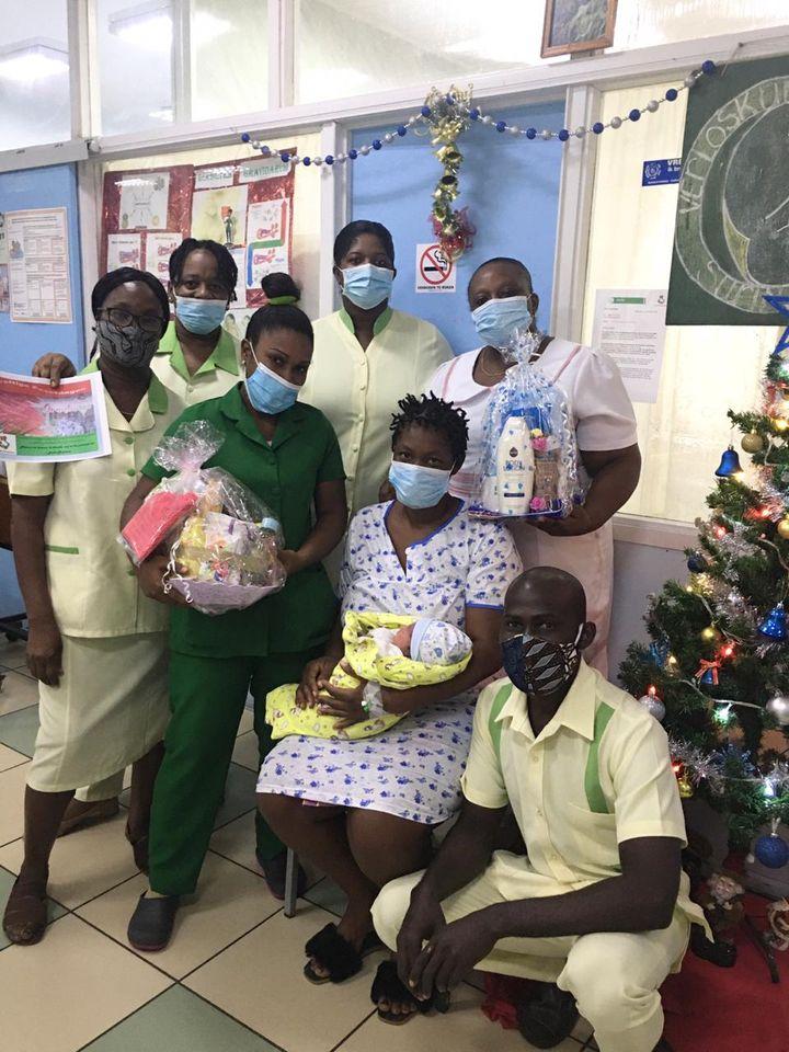 baby ziekenhuis Paramaribo