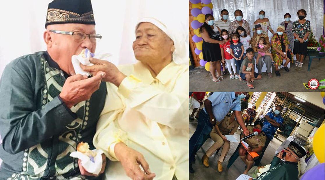60 jaar getrouwd – Echtpaar Dijokromo – Djotaroeno uit Paramaribo – foto's video