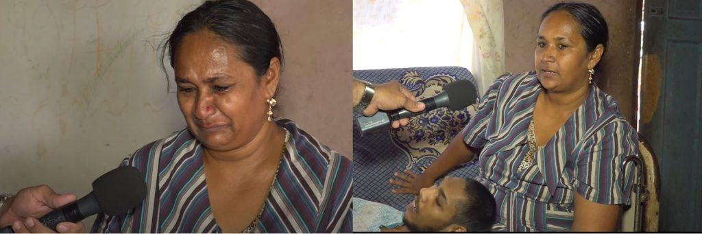 moeder zoon Suriname