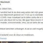 noor Nederland overleden