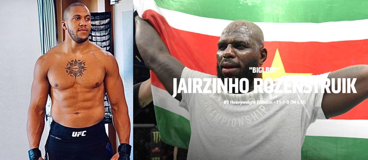 Kijk tip: Ciryl Gane vs. de Surinaamse Bigi Boy Jairzinho Rozenstruik – foto's video's