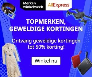 AliExpress Topmerken, Geweldige Kortingen