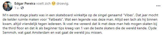 Clyde Semmoh Amsterdam
