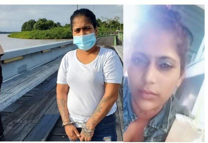 Video's – Gevluchte jonge vrouw uit Guyana in Suriname opgepakt