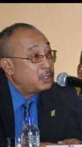 Leonel Soetosenojo overleden Suriname