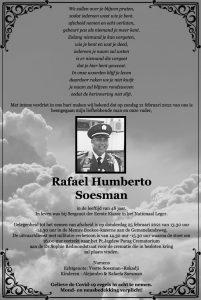 Rafael Soesman Militair