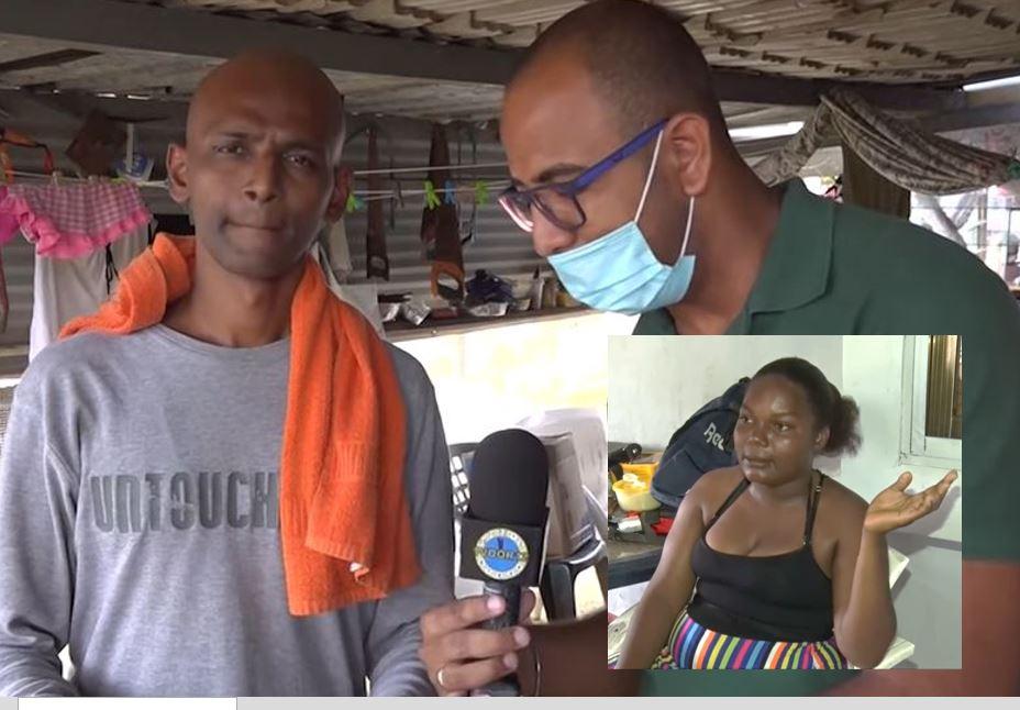 Video's – Gezin Ganput slaapt al jaren op een balkon te Paramaribo.