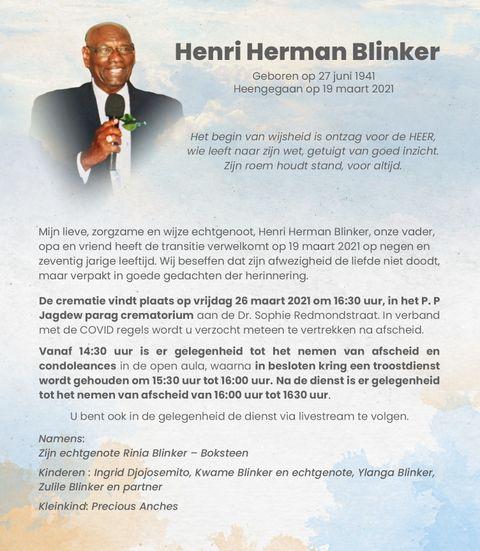 Henri Blinker