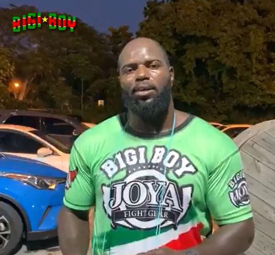 Surinaamse UFC warrior Jairzinho Bigi Boy Rozenstruik is vandaag jarig