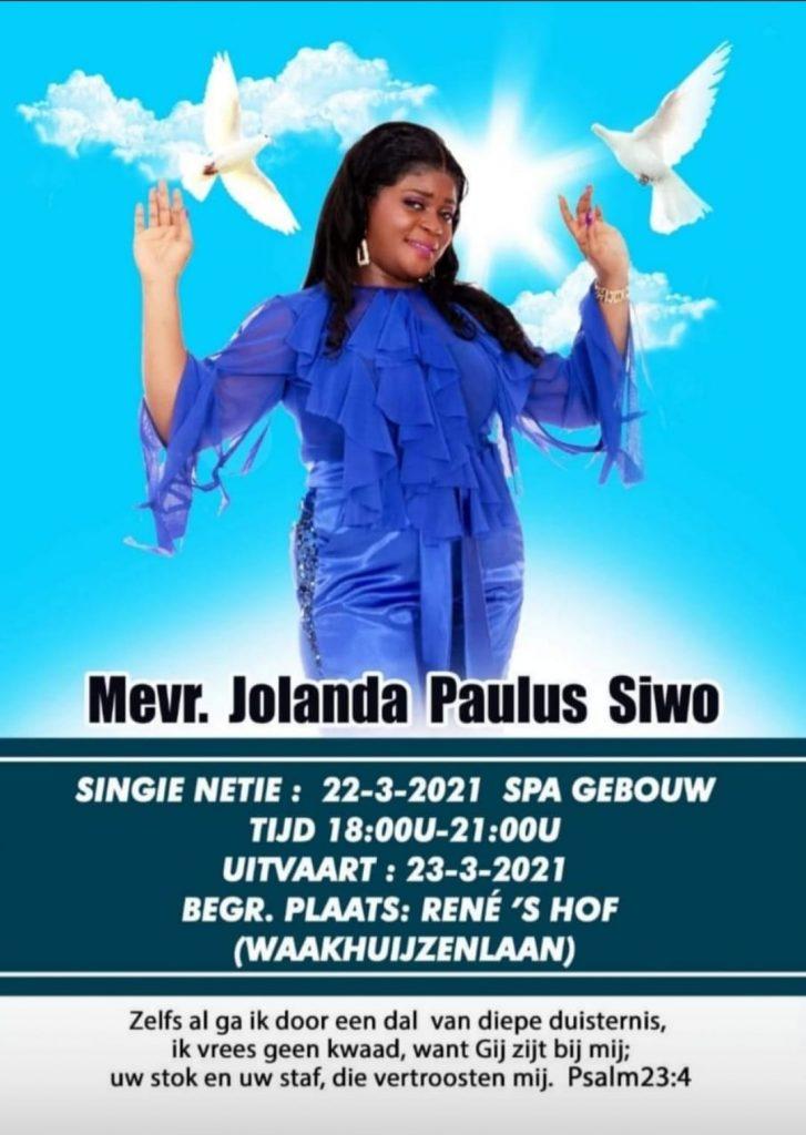 Jolanda Siwo Paramaribo