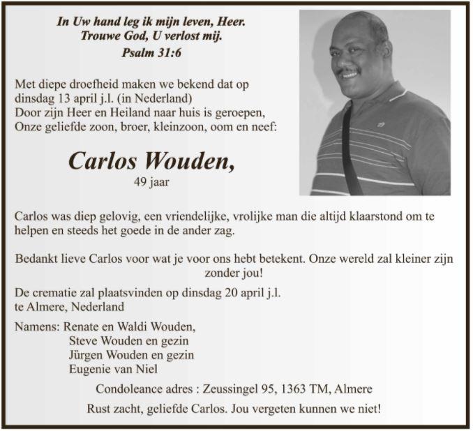 Carlos Wouden Nederland