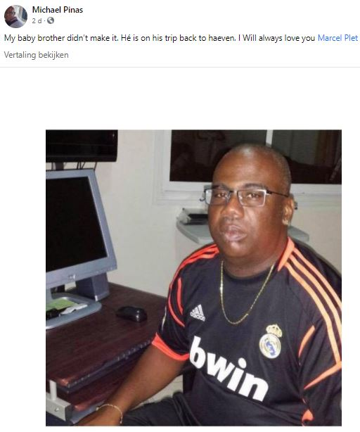 Marcel Plet Brandweer Suriname