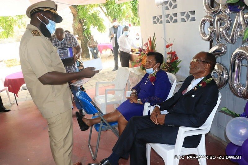 Naarden van Hetten getrouwd Paramaribo