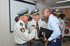 Changoer politie Suriname