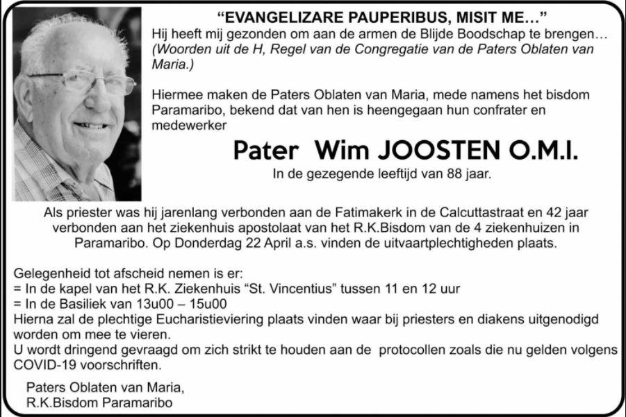 Pater Joosten Paramaribo
