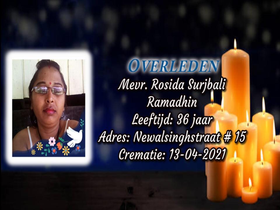Ramadhin Surjbali Suriname