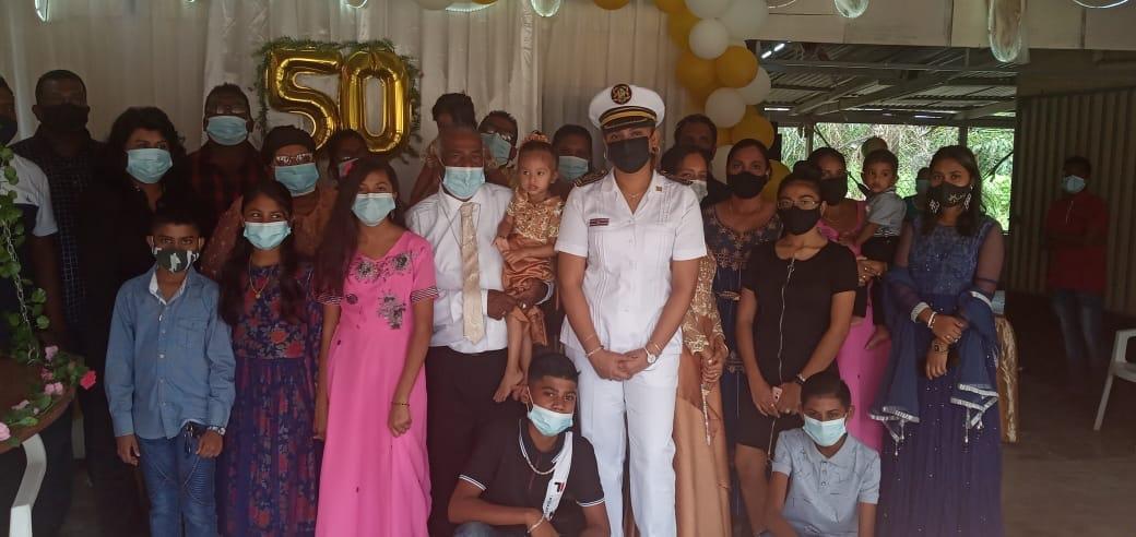 50 jaar huwelijk voor echtpaar Rodjan – Abdoella uit Suriname – foto's
