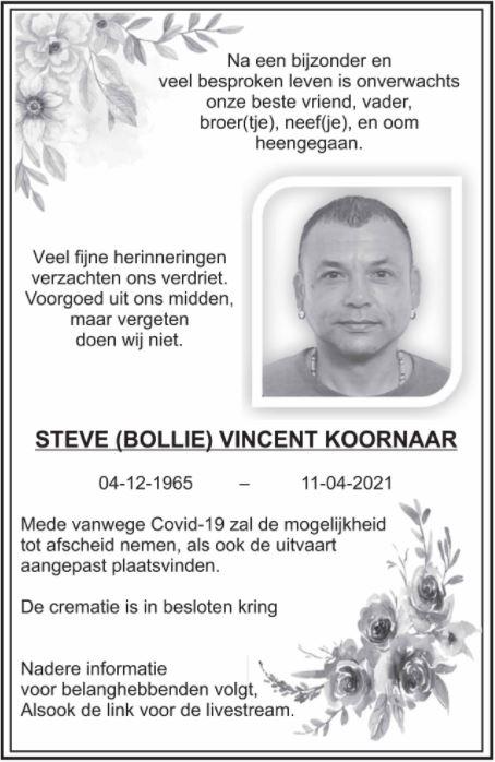 Steve Koornaar Amsterdam