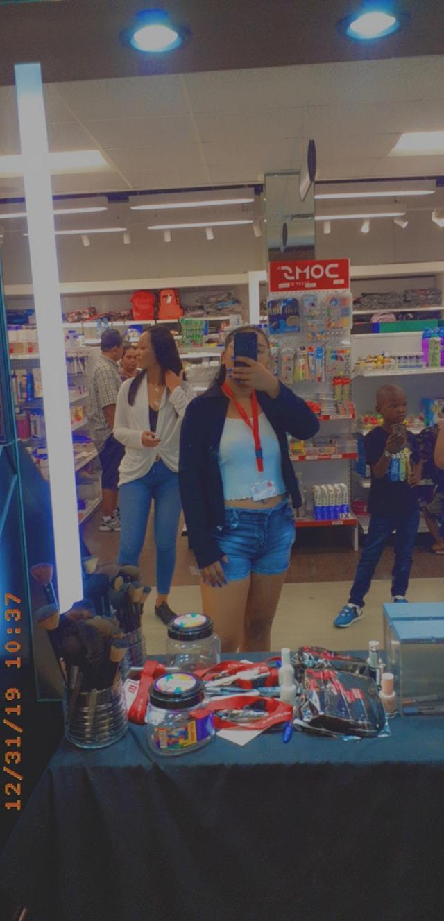 consuela Ranoedirijo Lucky Store Suriname
