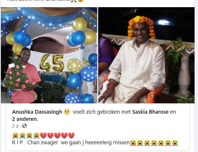 Suriname Chandersein Bharose