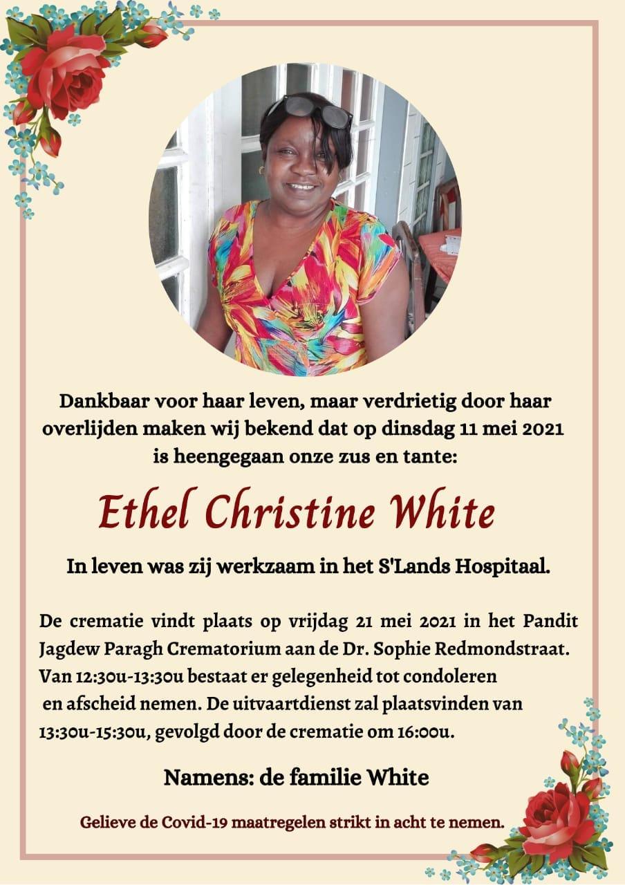 Ethel White