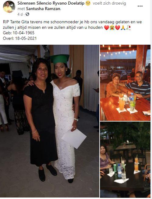 Gita Ramzan Raghoebir Suriname